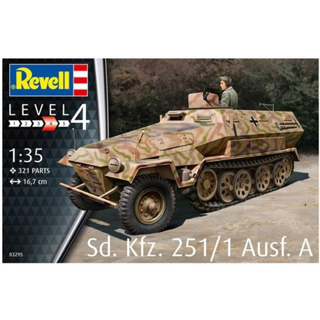 REVELL 03295 1/35 Sd.Kfz. 251/1 Ausf.A