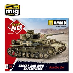 AMMO BY MIG A.MIG-7802 Super Pack Desert & Arid Battlefields