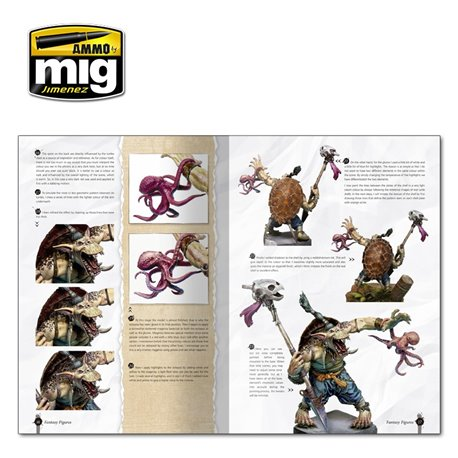 AMMO BY MIG A.MIG-6125 Painting Secrets For Fantasy Figure English