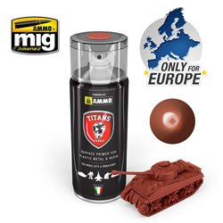 AMMO BY MIG TTH113 RUST BASE MATT PRIMER SPRAY 400ML