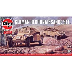 AIRFIX A02312V 1/76 German Reconnaisance Set