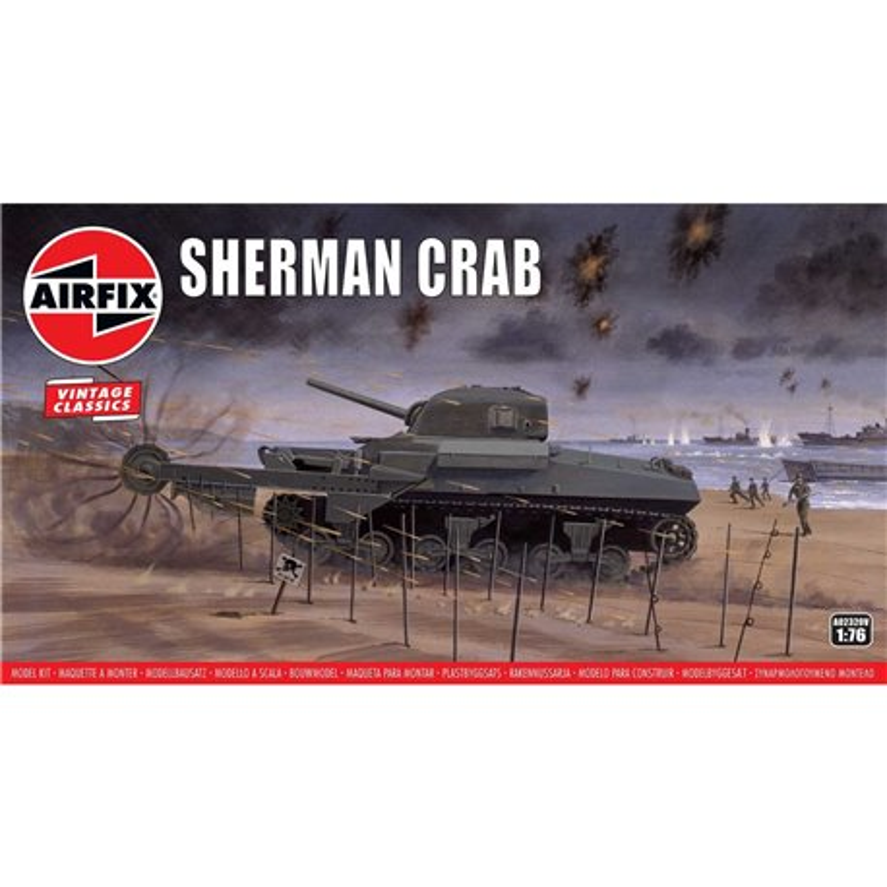 AIRFIX A02320V 1/76 Sherman Crab
