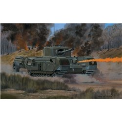 AIRFIX A02321V 1/76 Churchill Crocodile