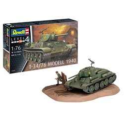 REVELL 03294 1/76 T-34/76 Modell 1940