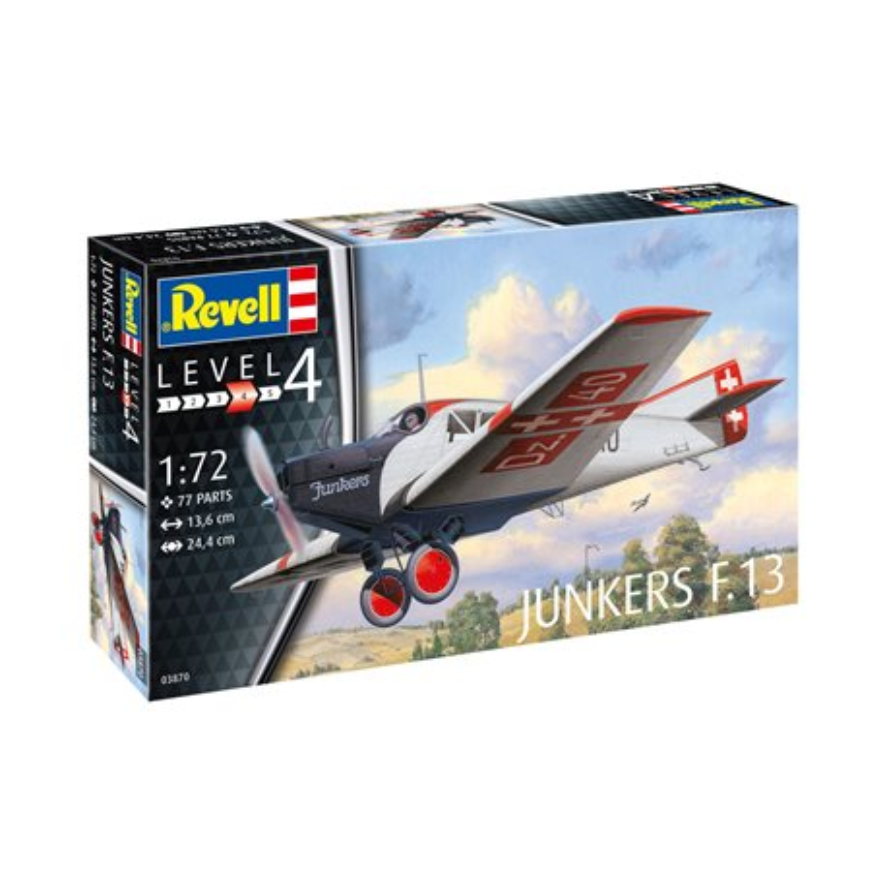 REVELL 03870 1/72 Junkers F.13