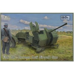 IBG Models 72076 1/72 Flak 38 German Anti Aircraft Gun (2 in the box)