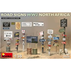 MINIART 35604 1/35 Road Signs WW2 (N.Africa)