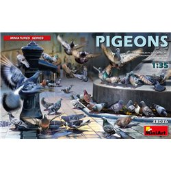MINIART 38036 1/35 Pigeons