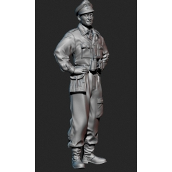 PANZER ART FI35-081 1/35 Waffen-SS tank officer Kursk battle No.1