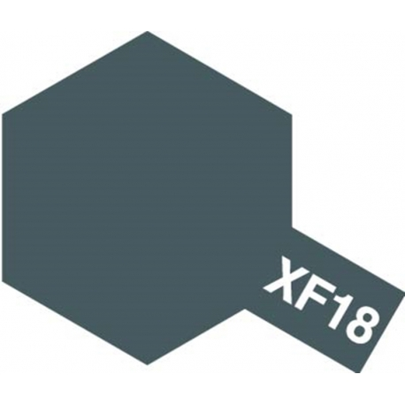TAMIYA 81718 Peinture Acrylic Mini XF-18 Bleu Moyen Mat / Medium Blue