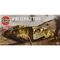 AIRFIX A02337V 1/76 WWI Female Tank