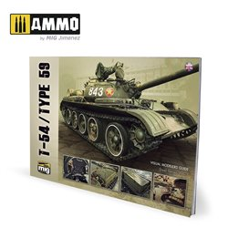 AMMO BY MIG A.MIG-6034 T-54/TYPE 59 Visual modelers Guide Vol3 French
