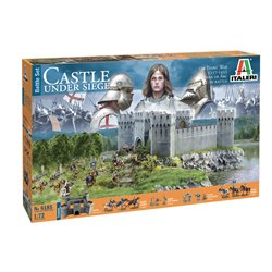 ITALERI 6185 1/72 CASTLE UNDER SIEGE - 100 Years' War 1337/1453 – BATTLESET
