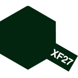 TAMIYA 81727 Peinture Acrylic Mini XF-27 Vert Noir Mat / Black Green