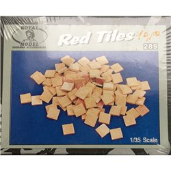 ROYAL MODEL 289 1/35 Red Tiles Paving