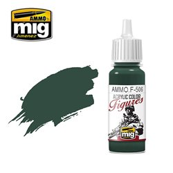 AMMO BY MIG AMMO.F-506 MEDIUM RUSSIAN GREEN FS-34092 17ml
