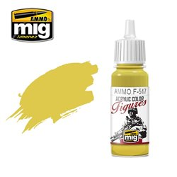 AMMO BY MIG AMMO.F-517 PALE GOLD YELLOW 17ml