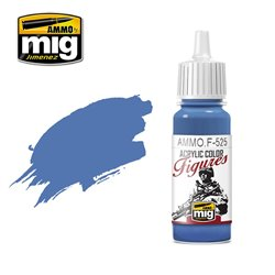 AMMO BY MIG AMMO.F-525 MEDIUM BLUE 17ml