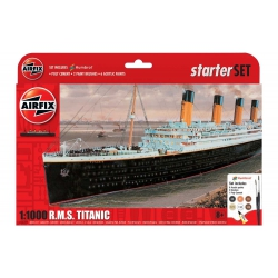 AIRFIX A55314 1/1000 Large Starter Set- RMS Titanic