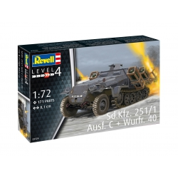 REVELL 03324 1/72 Sd.Kfz. 251/1 Ausf. C + Wurfr. 4