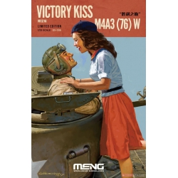 MENG ES-006 1/35 Victory Kiss M4A3 (76) W Limited Edition