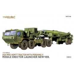 MODELCOLLECT UA72166 1/72 USA M983 Hemtt Tractor With Pershing II Missile Erector Launcher new Ver.