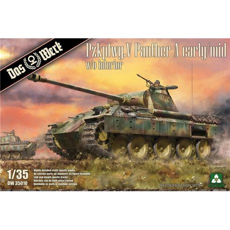 DAS WERK DW35010 1/35 Pz.Kpfw.V Sd.Kfz. 171 Panther Ausf. A