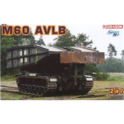DRAGON 3591 1/35 M60 AVLB (2 in 1)