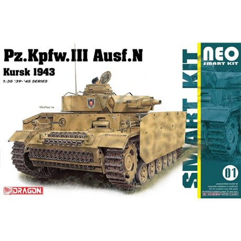 DRAGON 6559 1/35 Pz. Kpfw. III Ausf.N