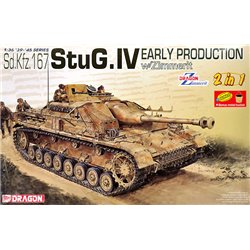 DRAGON 6615 1/35 Sd.Kfz. 167 StuG. IV Early Production with Zimmerit