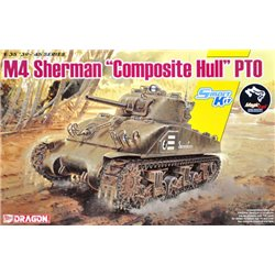 "DRAGON 6740 1/35 M4 Sherman ""Composite Hull"" PTO"