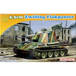 DRAGON 7488 1/72 5.5cm Zwilling Flakpanzer