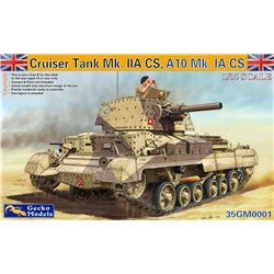 GECKO MODELS 35GM0001 1/35 Cruiser Tank A10 Mk.IA CS