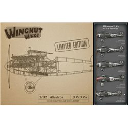 "WINGNUT WINGS 32907 1/32 Albatros D.Va ""Black Beauties"""