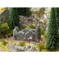 NOCH 58611 HO 1/87 Chapelle en ruine - Chapel Ruin