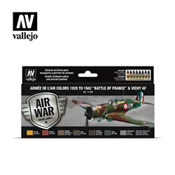 "VALLEJO 71.626 Armée de l'Air colors 1939 to 1942 ""Battle of France"" & Vichy AF"