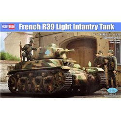 HOBBY BOSS 83893 1/35 French R39 Light Infantry Tank