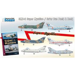 SPECIAL HOBBY SH72417 1/72 SMB-2 Super Mystere Duo Pack & Book