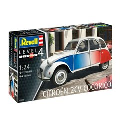 REVELL 07653 1/24 Citroën 2CV Cocorico