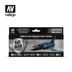 VALLEJO 71.627 Armée de l'Air colors post WWII to present 8x17ml