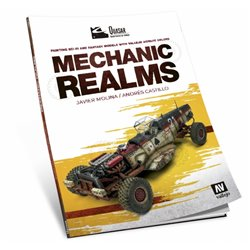 VALLEJO 75.018 Mechanic Realms English Book