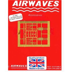 AIRWAVES AC4821 1/48 Russian K-36 E/J Seat Harness