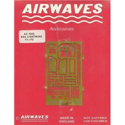 AIRWAVES AC7202 1/72 BAC Lightning F1-F3