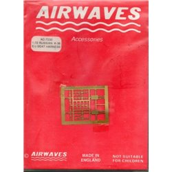 AIRWAVES AC7230 1/72 K-36E/J Seat Harness Russian