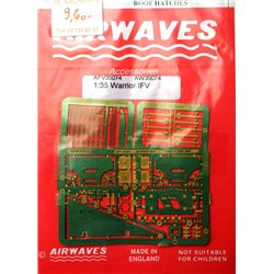 AIRWAVES AFV35074 1/35 Warrior IFV Detailing Set