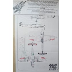 HGW MODELS 481008 1/48 Riveting Set Messerschmitt Bf 109F4/G2 For Hasegawa