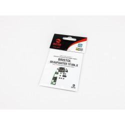 HGW MODELS 321000 1/32 Free Lines Black Positive Rivets 1220cm