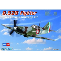 HOBBY BOSS 80237 1/72 French D.520 Fighter