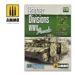 AMMO BY MIG A.MIG-8061 1/35 PANZER DIVISIONS WWII. DECALS