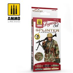 AMMO BY MIG A.MIG-7029 SPLINTER CAMOUFLAGE SET (6 x 17ml)